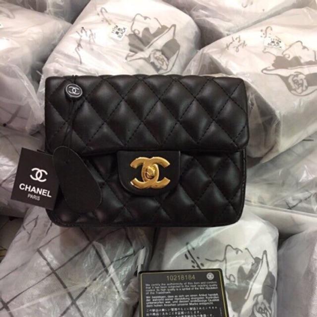 (Sẵn hàng) Mã 87523 túi xách Chanel Classic size nhỏ
