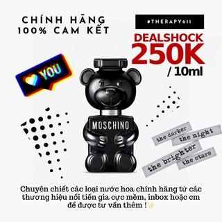 .. Nước Hoa Moschino Toy Boy 2 EDP New Black (5ml 10ml 20ml) .. thumbnail