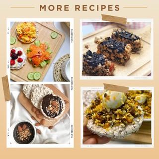 Hình ảnh Bánh gạo lứt ăn kiêng GUfoods (510g = 54 bánh) - Các vị Yến mạch, Huyết rồng, Tím than, Mix 3 vị, Hạt chia và Hạt quinoa-3