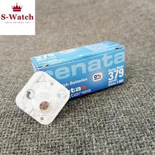 Viên pin đồng hồ RENATA 521 chính hãng Thụy Sĩ SR521SW 379 vỉ 1 viên ảnh thật có bảo hành thumbnail