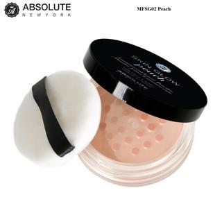 Phấn phủ bột tạo sáng Absolute NewYork Skin Glow Powder MFSG02 Peach 4g thumbnail