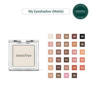 Phấn mắt dạng lì innisfree My Eyeshadow Matte 2g
