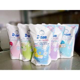 Dung dịch giặt xả Dnee 600ml (túi xanh - trắng - tím - hồng ) thumbnail