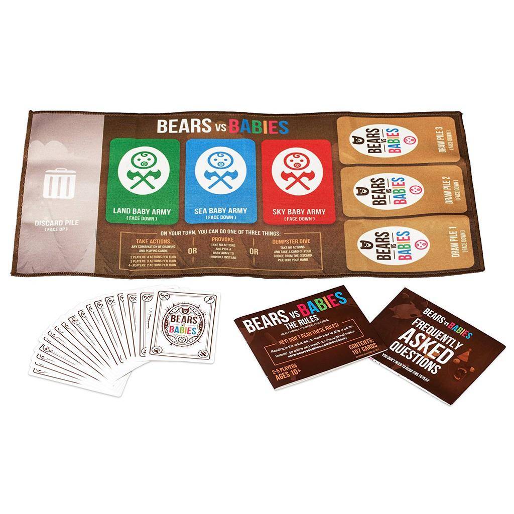 Game card Bears vs babies