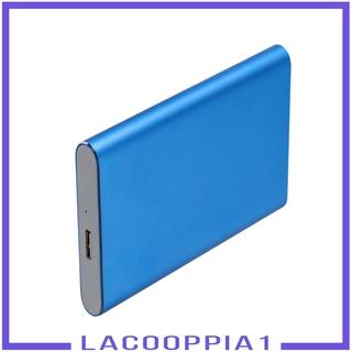 [LACOOPPIA1]2.5in Portable USB 3.0 SATA 4TB Hard Drive Enclosure Tool Free