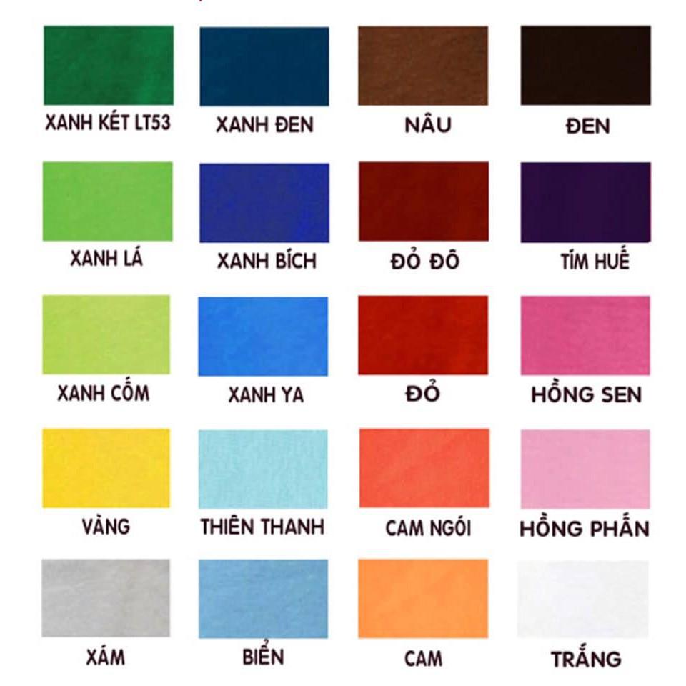màu nhuộm quần áo