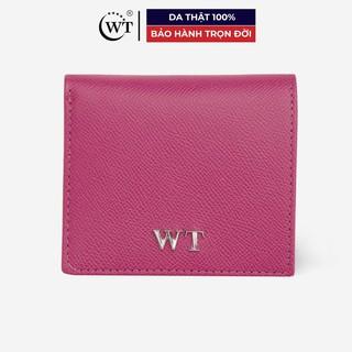 Ví Nữ Da Bò Cao Cấp Màu Hồng, Màu Tím WT Leather 030100908, 030100980 thumbnail