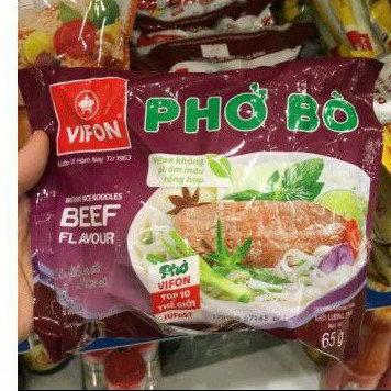 5 GÓI PHỞ BÒ VIFON 65G/GÓI