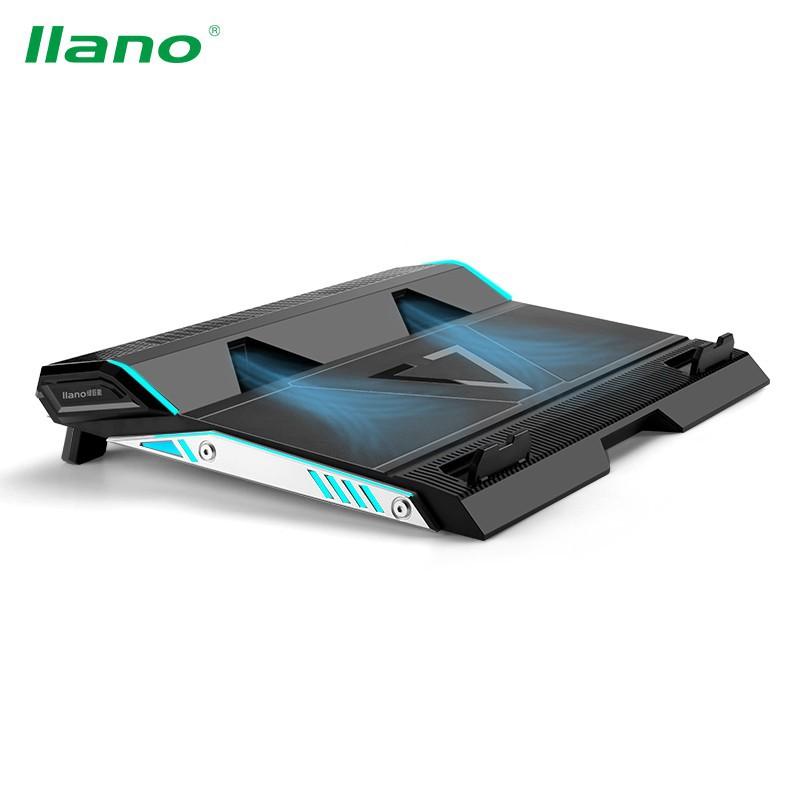 Đế tản nhiệt chơi game llano cao cấp dành cho máy tính xách tay 14/15.6/17inch
