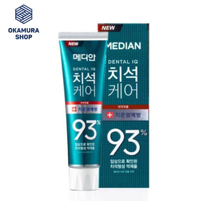 (Date 2023) Kem đánh răng 120g Median 93% Hàn Quốc