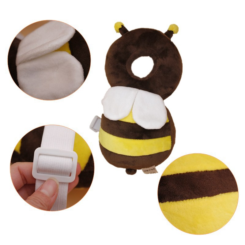Baby Head Protection Pad infant Anti Crash Cotton Toddler Pillows Prevent Fall