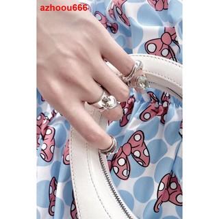 ○Bản in đầu tiên nhẫn đeo chéo oinicio cho nữ gió lạnh đơn giản, cá tính quà tặng cặp đôi nhẹ thiết kế thích hợ