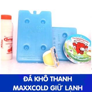 Đá khô thanh MaxCold giữ lạnh 6-8 tiếng (Dùng được quạt điều hoà)