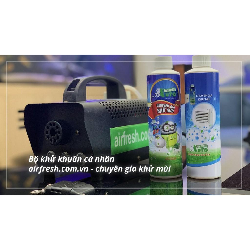Bộ máy khử mùi sát khuẩn cá nhân Auto Air Fresh