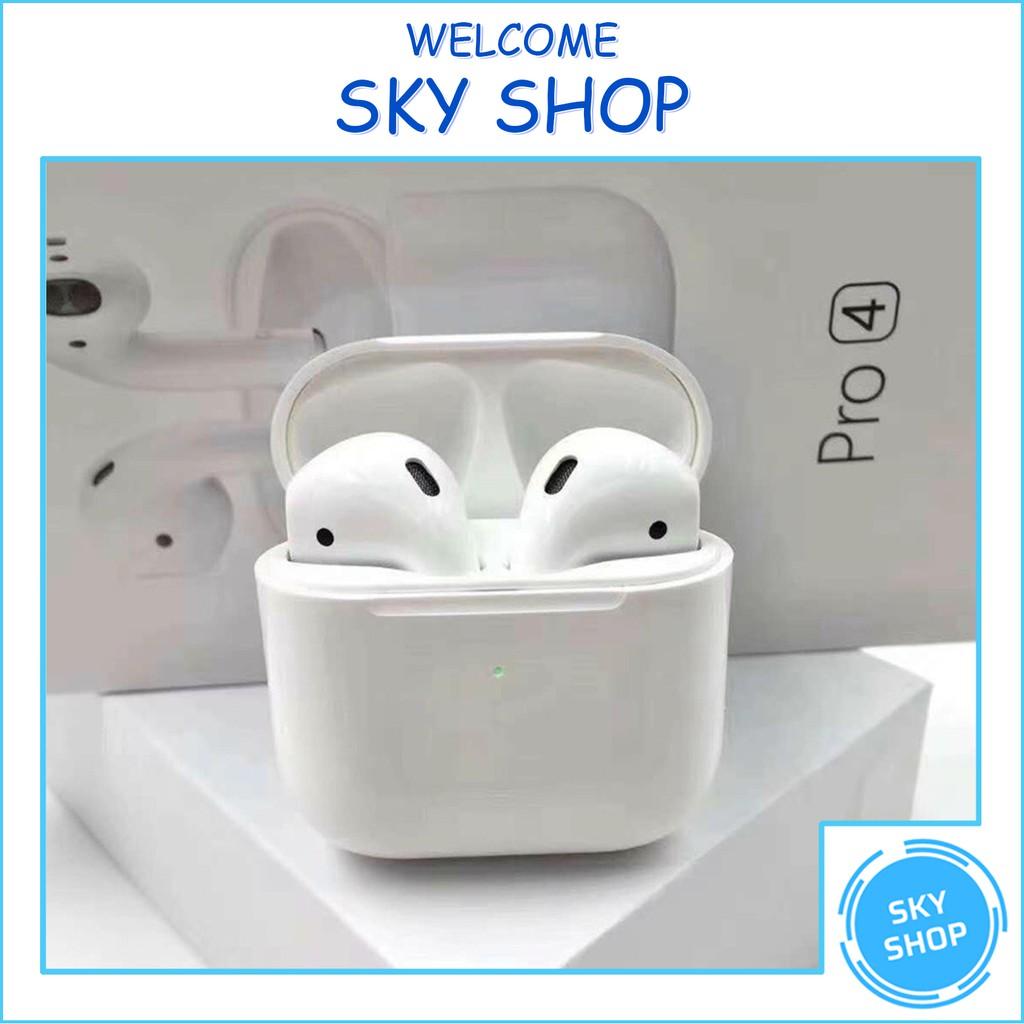 Tai Nghe Nhét Tai - Tai Nghe Bluetooth mini Pro 4 - Âm Thanh Cực Hay, Đàm  Thoại Sắc Nét - Bảo hành 1 đổi 1 - Tai nghe Bluetooth nhét Tai Nhãn hàng No  Brand