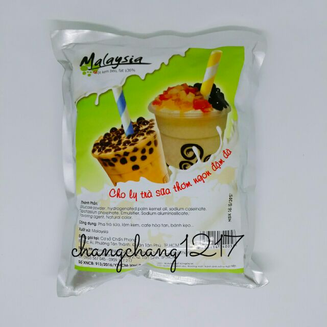 Bột Kem Béo Pha Trà Sữa Malay Malaysia 1kg (56k)