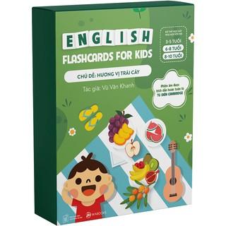 Bộ Thẻ Học Tiếng Anh chủ đề Trái Cây - Flashcard thumbnail