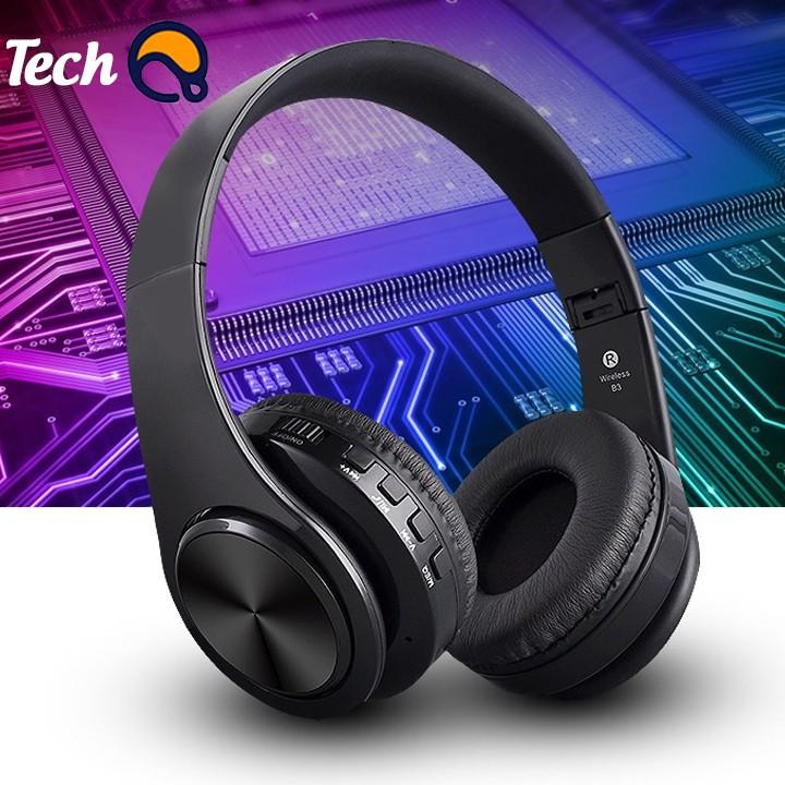 Tai nghe bluetooth không dây B3 cao cấp, headphone bluetooth chụp tai có khe cắm thẻ nhớ - BH 12 tháng