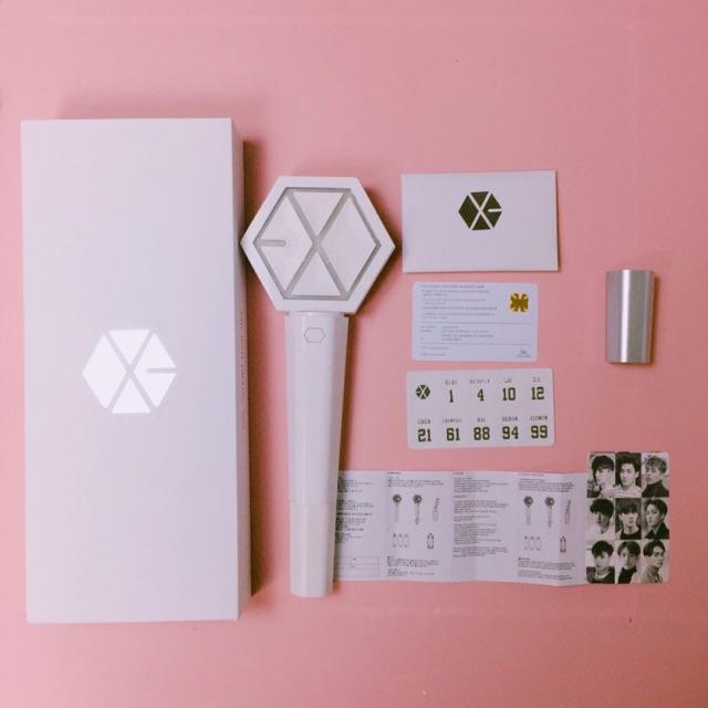 LIGHTSTICK EXO ĐÈN CỔ VŨ EXO (ảnh thật – có sẵn)