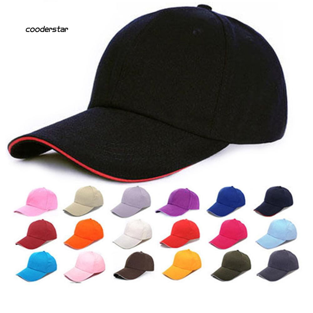 CDST_Fashion Men Women Sports Baseball Cap Snapback Hat Hip-Hop Adjustable Bboy Cap