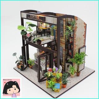 """Mô Hình Nhà Gỗ DIY """"The Coffee house"""""""