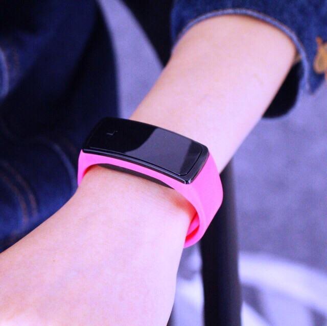 Đồng hồ led unisex Sport Ulzzang đèn led dây cao su dẻo dai phong cách thời trang năng động