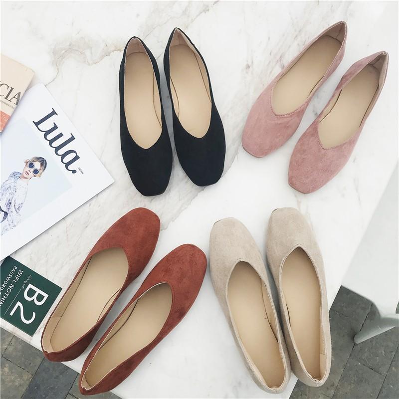 Đôi giày bít mũi vuông nhiều màu đơn giản thời trang cho nữ - 14890540 , 2490777368 , 322_2490777368 , 223720 , Doi-giay-bit-mui-vuong-nhieu-mau-don-gian-thoi-trang-cho-nu-322_2490777368 , shopee.vn , Đôi giày bít mũi vuông nhiều màu đơn giản thời trang cho nữ