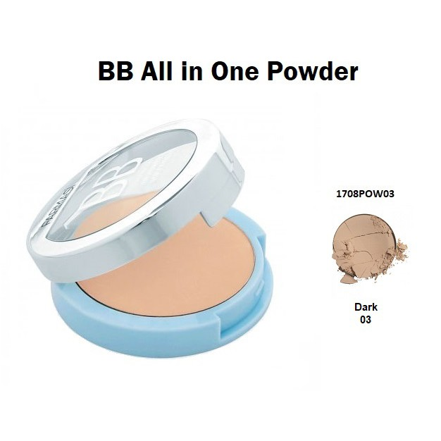 Phấn phủ BB All in One Powder Farmasi (1708POW03) 14gr Date 2020