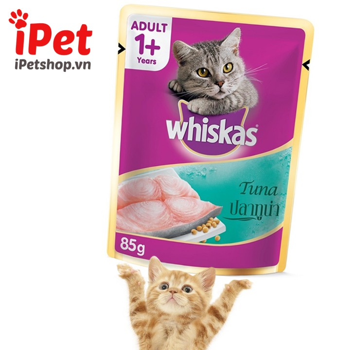 Pate Cho Mèo Lớn Whiskas 85g - iPet