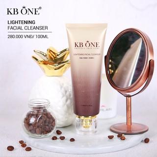Sữa Rửa Mặt Sáng Da Ngừa Mụn KB ONE 100ml Chính Hãng thumbnail