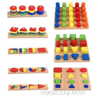Set 8 món Montessori phát triển tư duy toán