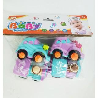 Bộ 4 xe chạy đà Baby Rutle595 tk