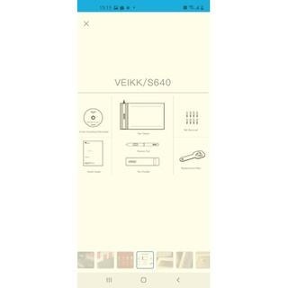 Bảng vẽ Đồ Họa Kỹ thuật Số Veikk S640 (6 4 Inch) (mới 99.99%) thumbnail