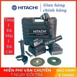 [HÀNG MỚI VỀ] Máy mài cầm tay pin Hitachi 118V – 2 PIN 20000mAh – Động cơ không chổi than – 100% Đồng TẶNG 1 ĐÁ MÀI VÀ 1