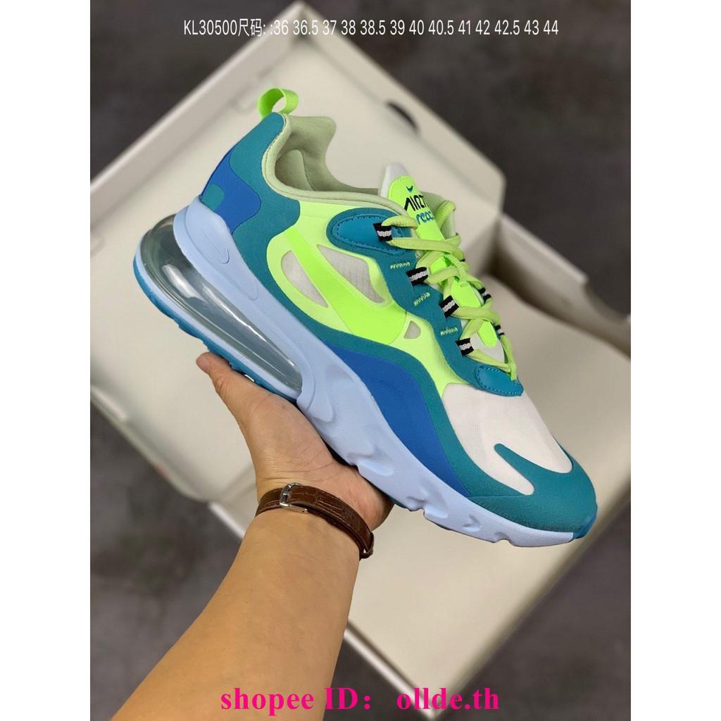 Nike React Air Max 270รองเท้าวิ่งผู้ชายและผู้หญิง