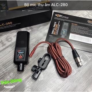 Mic thu âm AQTA ALC-280 mic hát karaoke hoặc live stream