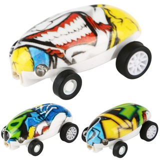 High-speed toy car with rotating lights for baby