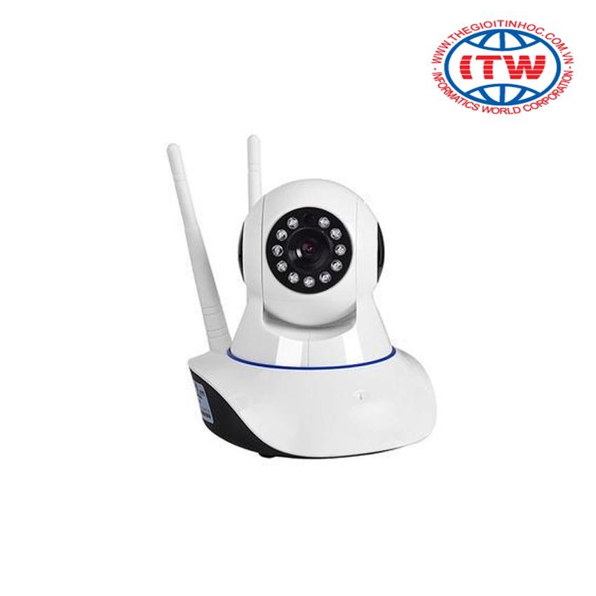Bộ Camera Smart IP Wifi ROBO 2 ANTEN (Trắng) và thẻ nhớ 32GB