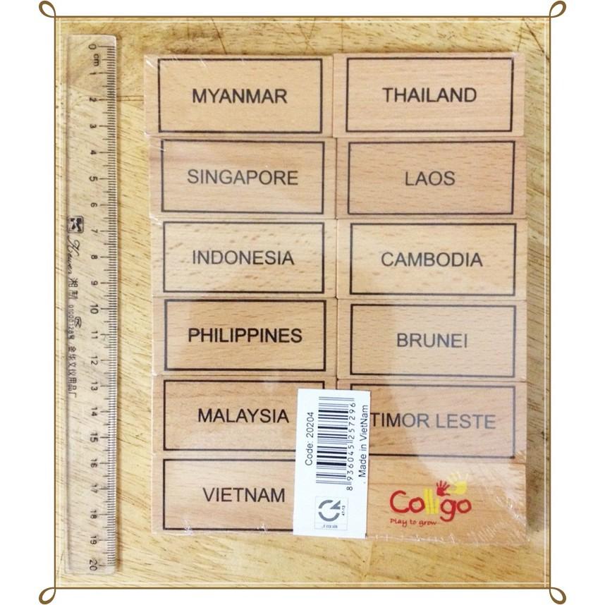 Cờ các nước Đông Nam Á.