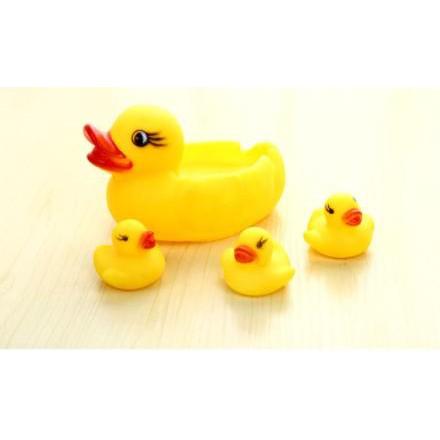 Đàn vịt thả tắm bồn tắm có tiếng kêu cho bé/đàn vịt thả bể bơi