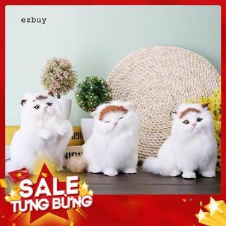 Mèo con nhồi bông đồ chơi xinh xắn dùng để trang trí nội thất / ô tô – Siêu HOT