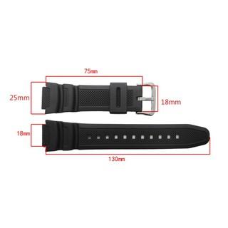 Dây nhựa đồng hồ Casio AE1200, SKMEI 1335