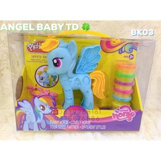 Bộ Đất Nặn Trang Trí Ngựa PONY Play-Toy