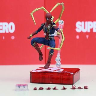Mô hình Iron Spider Spider Man SHF Infinity War