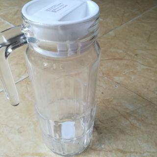 Bình nước thủy tinh 1,1L