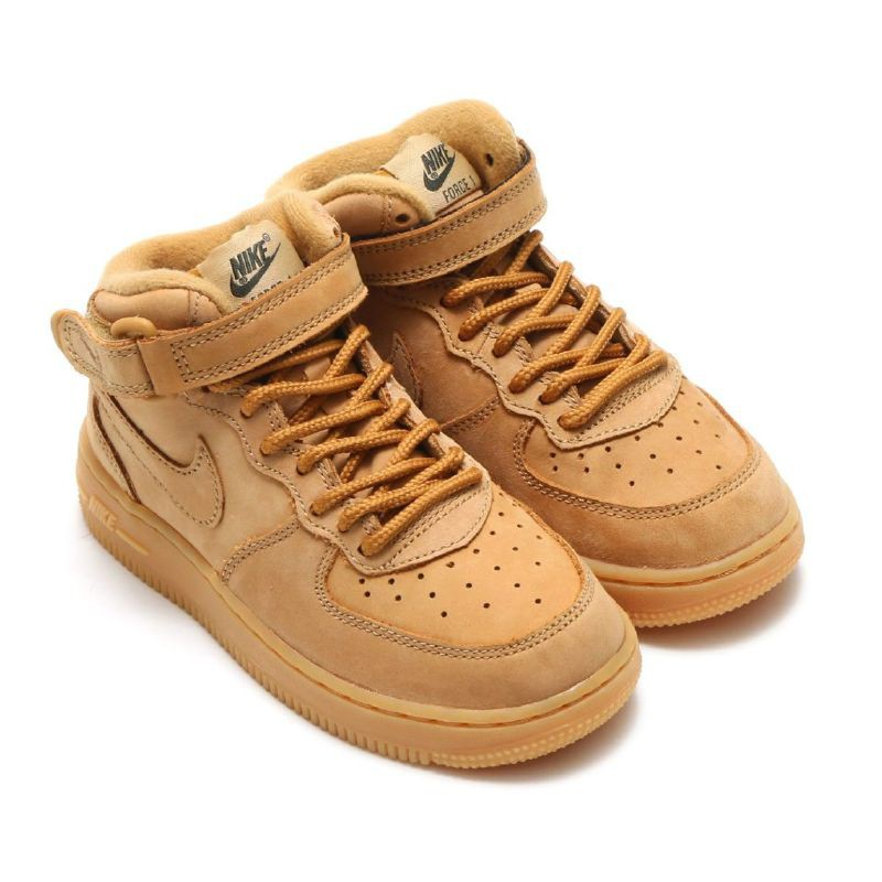 """online store aeae1 86985 Giày NIKE AIR FORCE 1 MID """"WHEAT"""""""