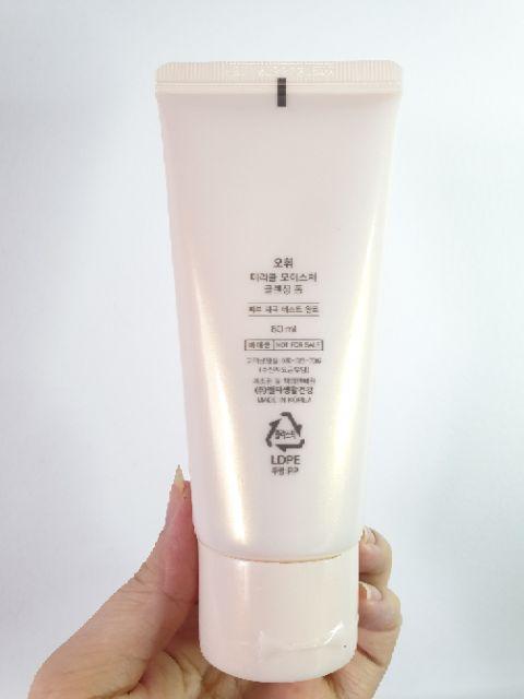 Sửa Rửa Mặt Dưỡng Ẩm OHUI Miracle Cleansing Foam
