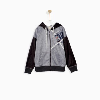 Áo Bé Trai Color Space Out Mix up Hoodie Jacket M.D.K
