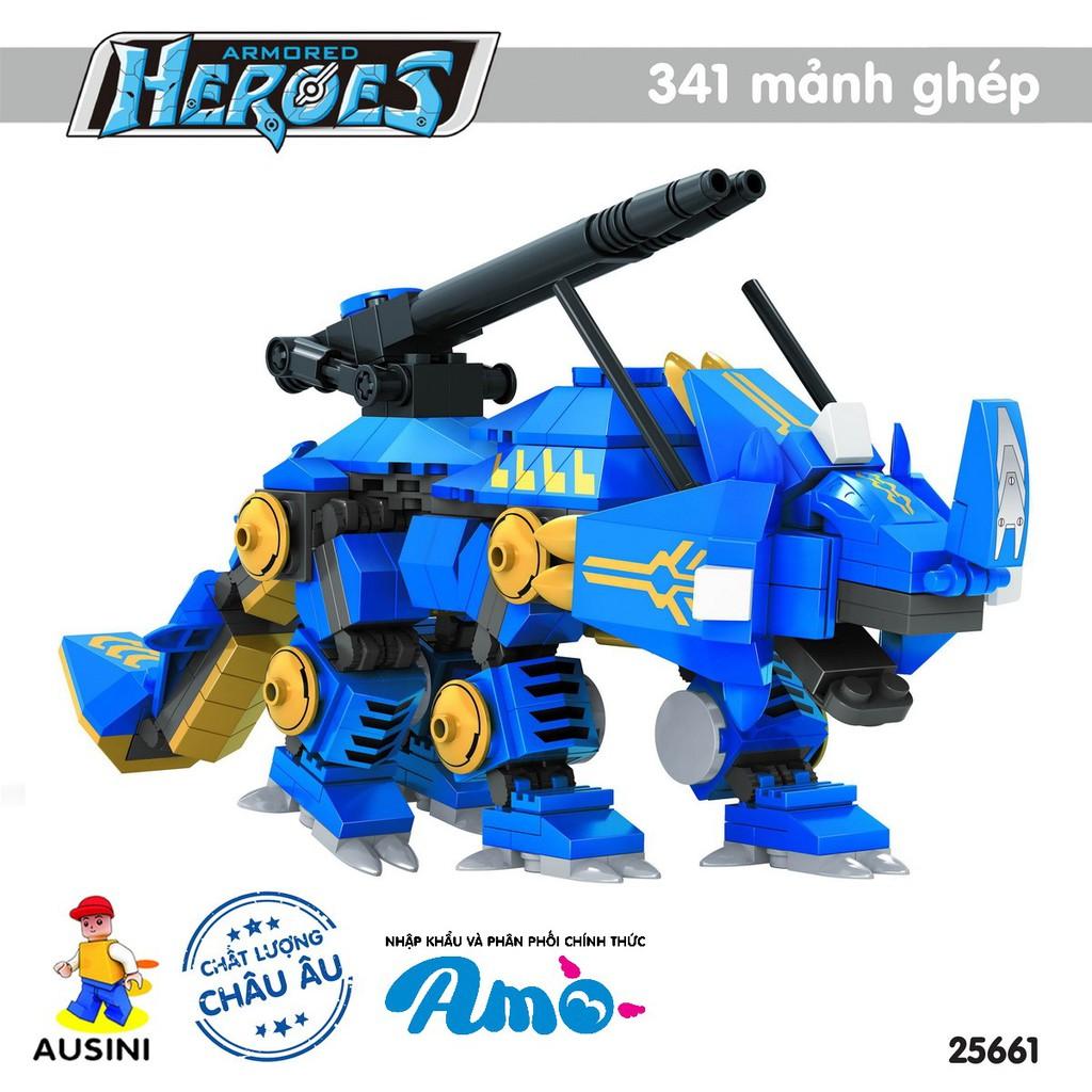 Bộ Lắp Ráp Robot Anh Hùng Ausini 25661 (341 Mảnh Ghép)