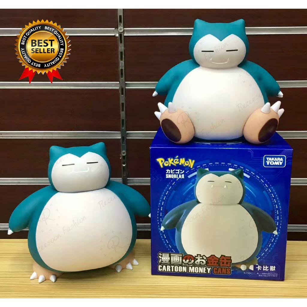 Hộp đựng tiền xu hình Pokemon snorlax Piggy bankle